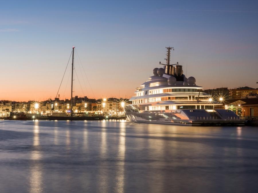 I cinque yacht più grandi delmondo